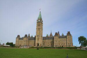 Parlement canadien, là où sont gérés nos impôts!