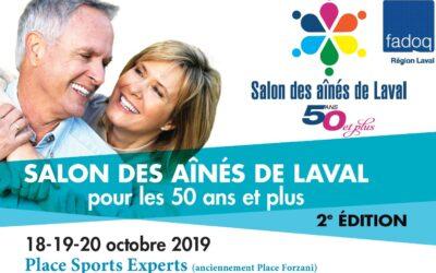 Le salon des aînés de Laval 2019